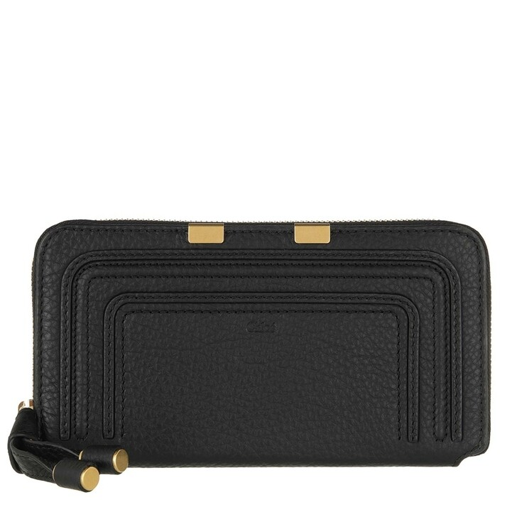 wallets, Chloé, Marcie Portefeuille Black