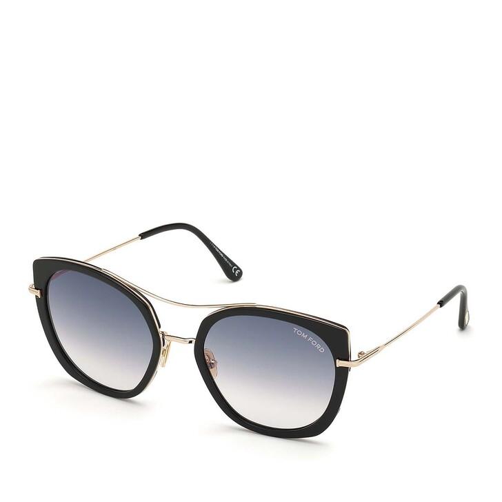 Sonnenbrille, Tom Ford, Women Metal Sunglasses FT0760 Black/Grey
