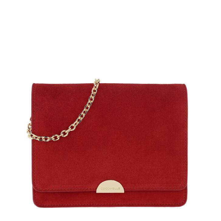 Handtasche, Coccinelle, Mini Crossbody Bag Polish Red