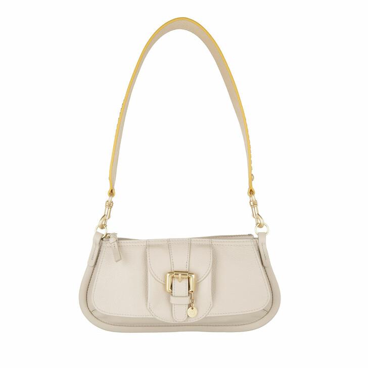 Handtasche, See By Chloé, Zip Up Crossbody Bag Cement Beige