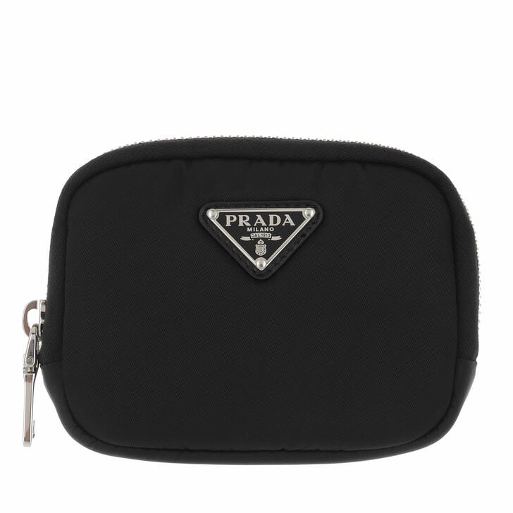 Geldbörse, Prada, Small Wallet Black