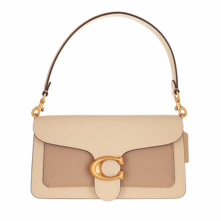 Handtasche, Coach, Colorblock Tabby Shoulder Bag 26 Ivory Taupe Multi