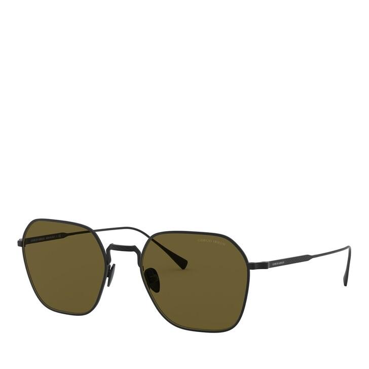 sunglasses, Giorgio Armani, 0AR6104 Matte Black