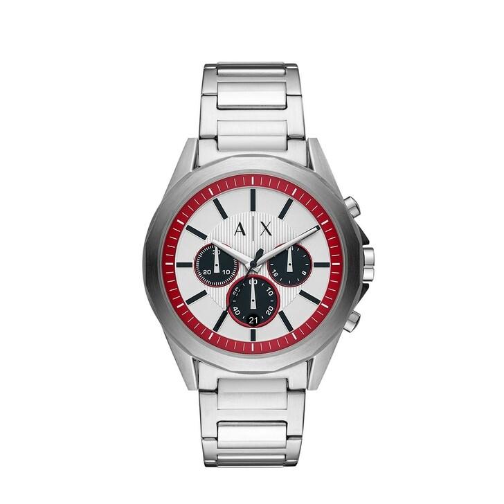 Uhr, Armani Exchange, Men Chrono Watch Silver