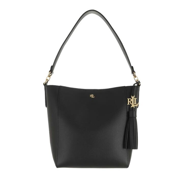 Handtasche, Lauren Ralph Lauren, Adley 19 Shoulder Small Black
