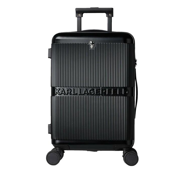 Reisetasche, Karl Lagerfeld, K/Ikonik Hardcase Trolley Black