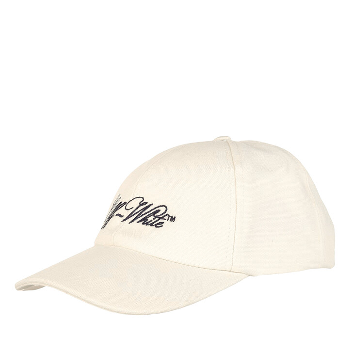 Schal, Off-White, Embr Logo Baseball Cap  Beige Black