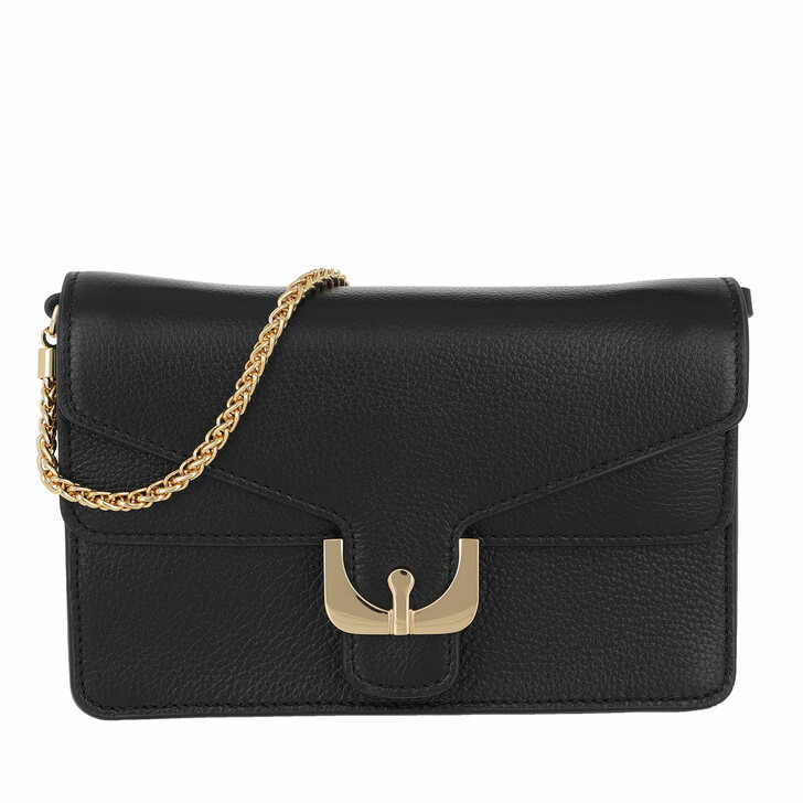 Handtasche, Coccinelle, Ambrine Soft Crossbody Bag Noir