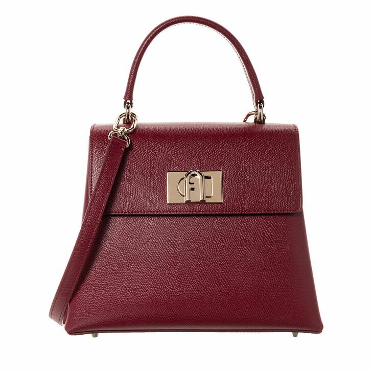 Handtasche, Furla, 1927 Small Top Handle Ciliegia D