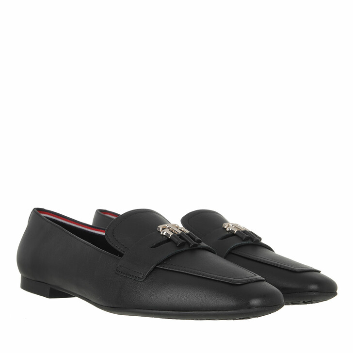 Schuh, Tommy Hilfiger, Essential Loafers Leather Black