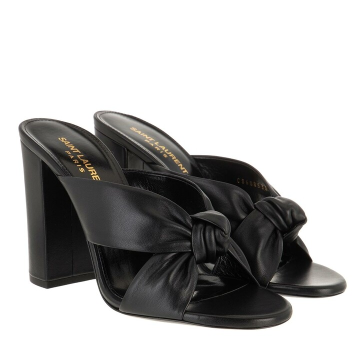 Schuh, Saint Laurent, LouLou Mule Black
