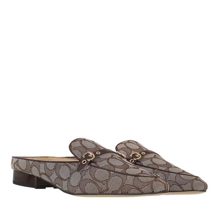 shoes, Coach, Irene Jacquard Mule