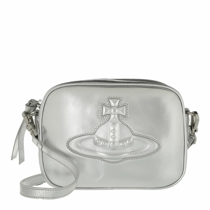 Handtasche, Vivienne Westwood, Chelsea Camera Bag Silver