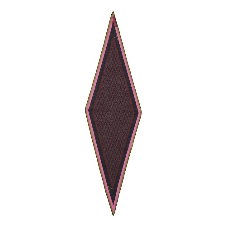 Schal, AIGNER, Scarf Burgundy