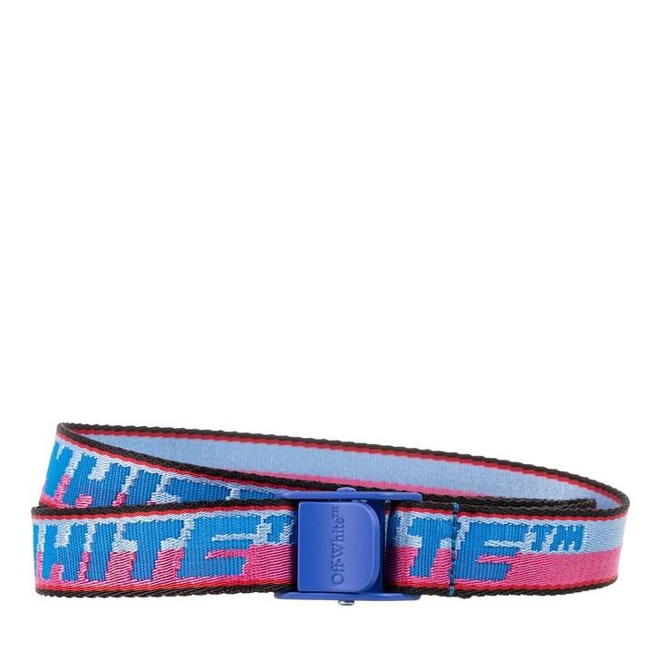 belts, Off-White, New Logo Mini Industrial Belt Light Blue