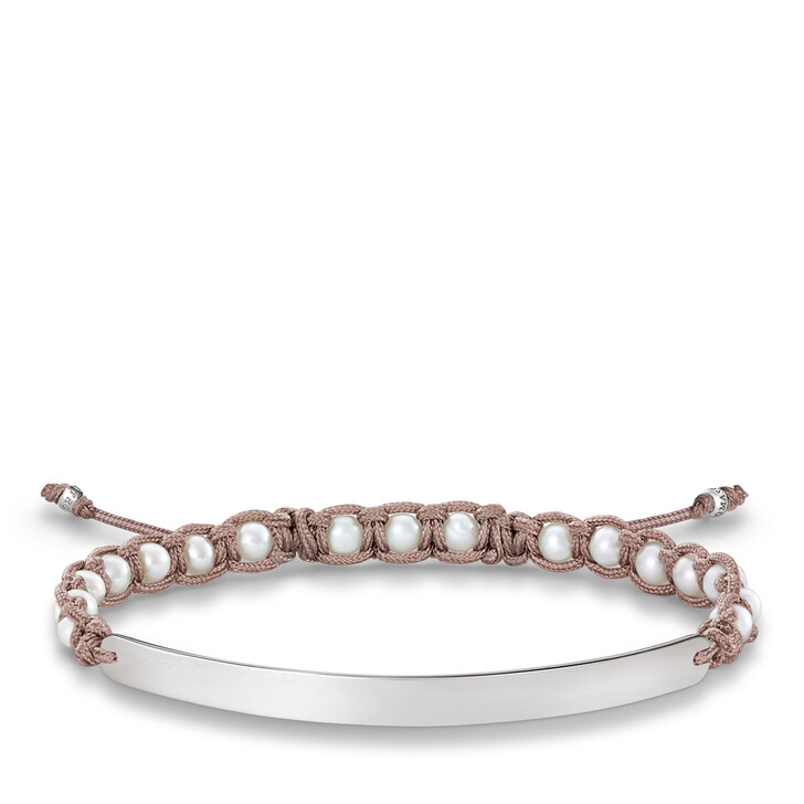 bracelets, Thomas Sabo, Bracelet Silver White
