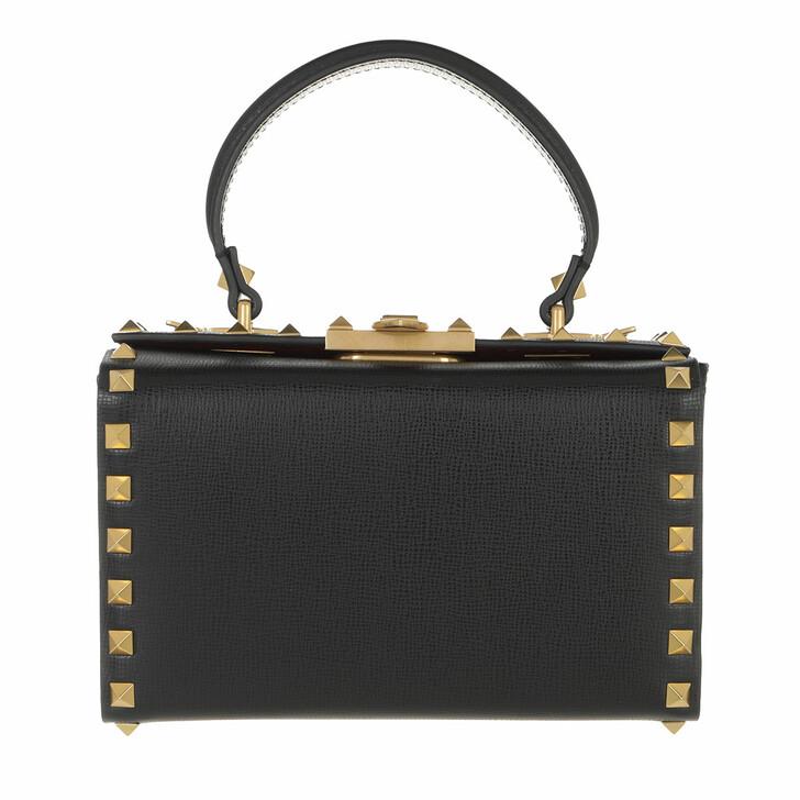 bags, Valentino Garavani, Shoulder Bag Black