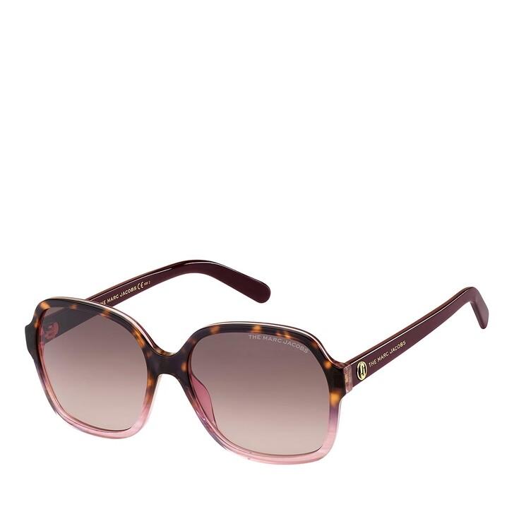Sonnenbrille, Marc Jacobs, MARC 526/S HAVANA BURGUNDY