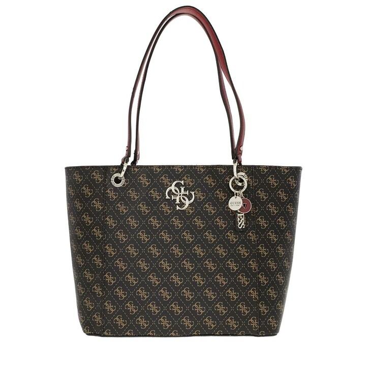 Handtasche, Guess, Noelle Elite Tote Brown
