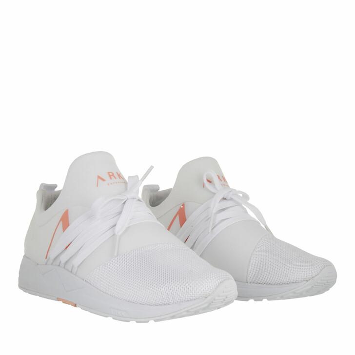 shoes, ARKK Copenhagen, Raven Mesh PET S-E15 Sneaker White Peach