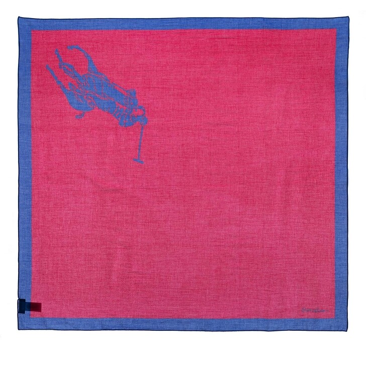 Schal, Polo Ralph Lauren,  Square Square Scarf Sport Pink Multi