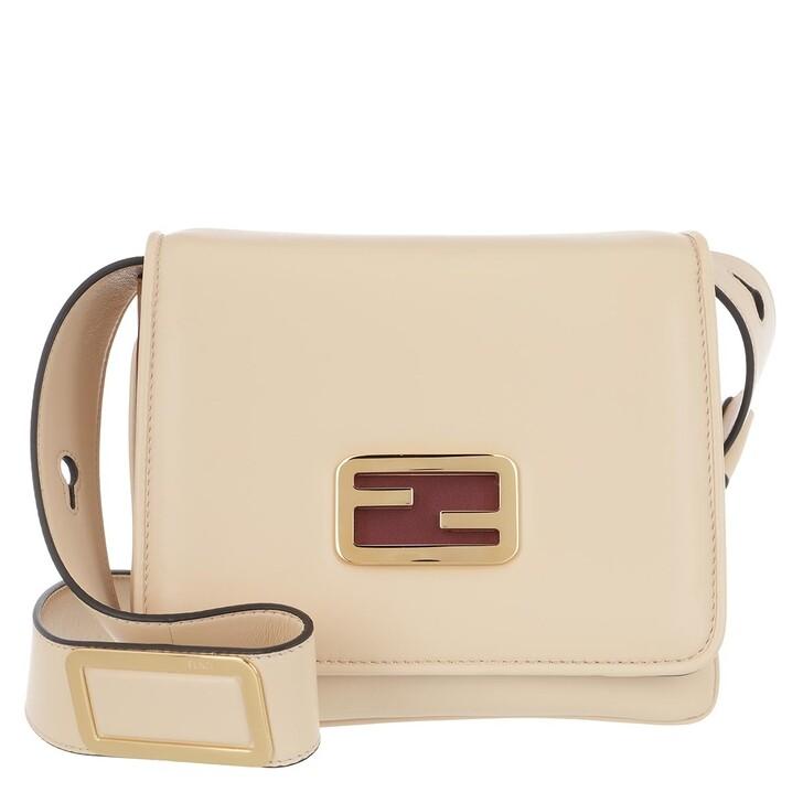 Handtasche, Fendi, ID Mini Crossbody Bag Nude