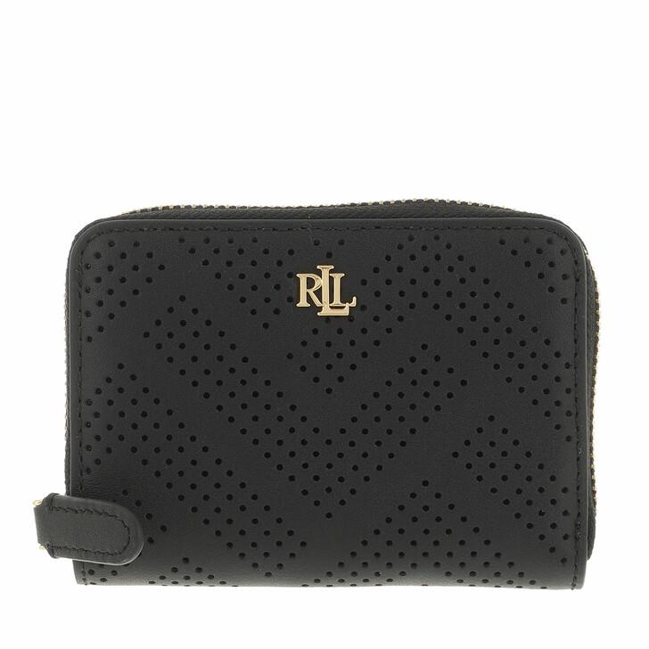 wallets, Lauren Ralph Lauren, Small Zip Wallet  Black