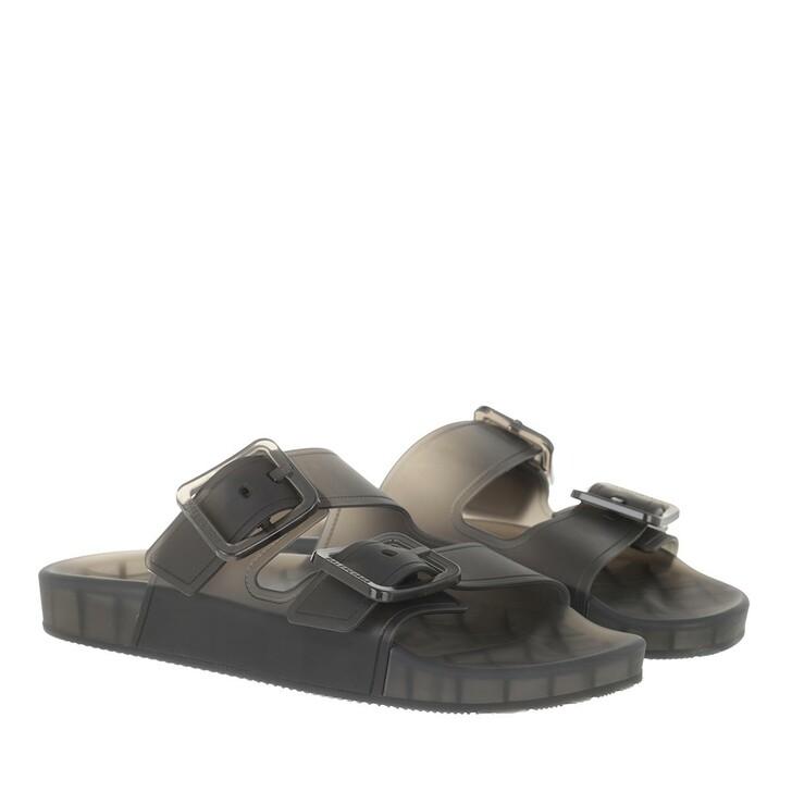 shoes, Balenciaga, Mallorca Sandal Black