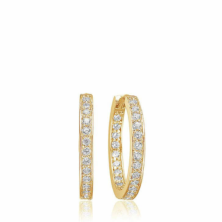 earrings, Sif Jakobs Jewellery, Corte Earrings 18K Yellow Gold Plated