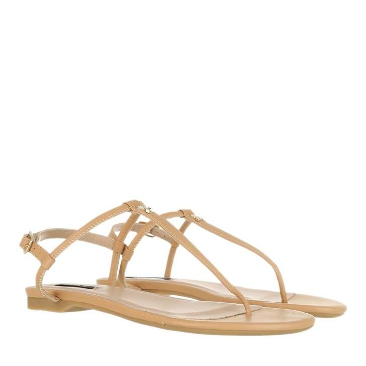 Schuh, Patrizia Pepe, Sandal Pompei Beige