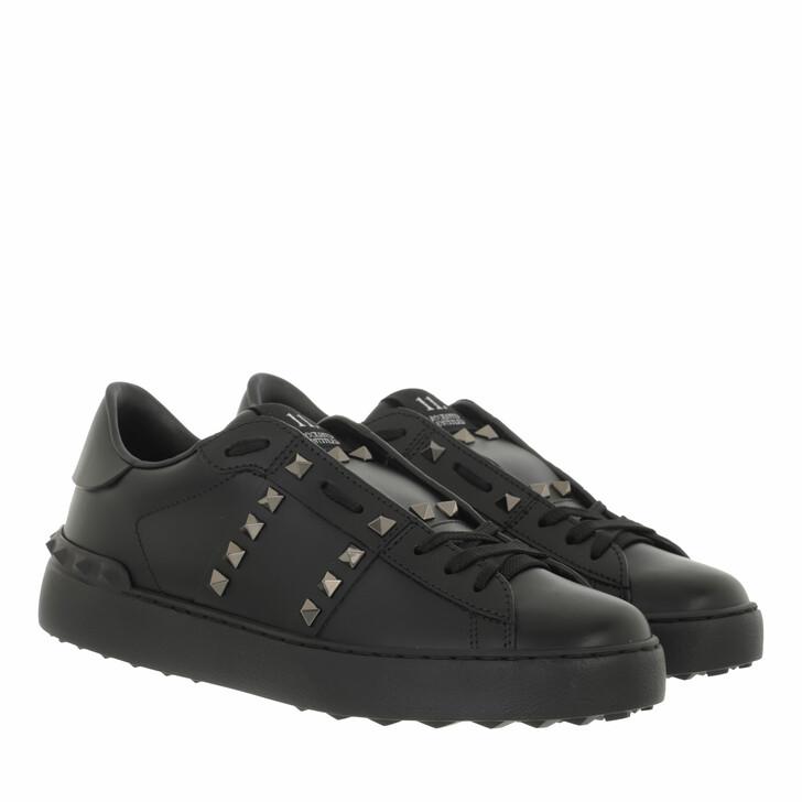 shoes, Valentino Garavani, Rockstud Sneaker Black