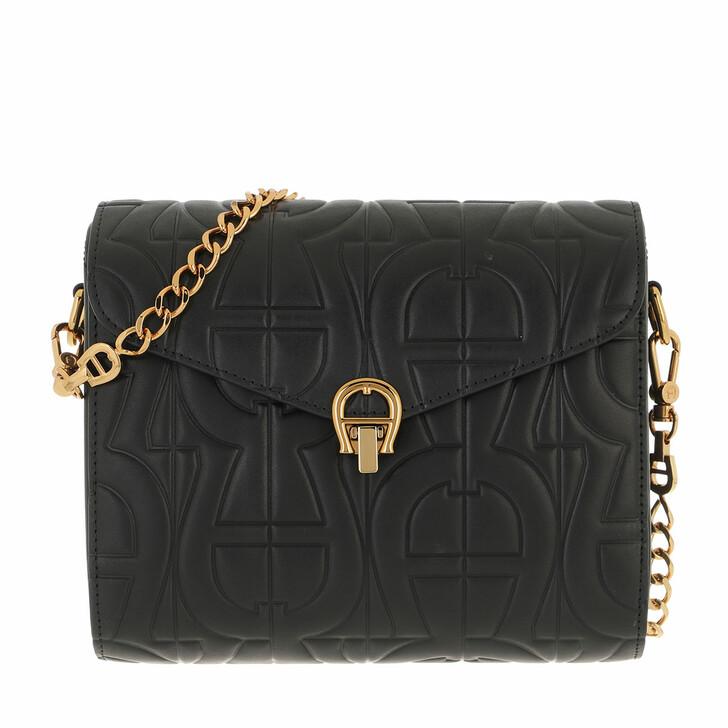bags, AIGNER, Pria Crossbody Bag Black