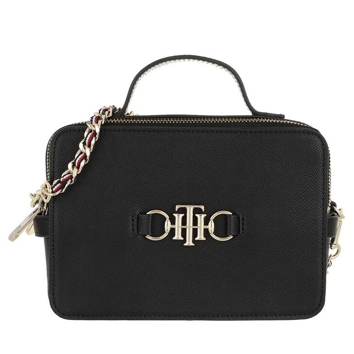 bags, Tommy Hilfiger, Tommy Hilfiger Club Camera Bag Black
