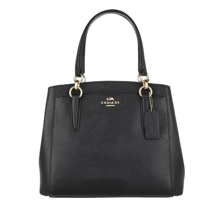 bags, Coach, Minetta Crossbody Tote Bag Leather Black