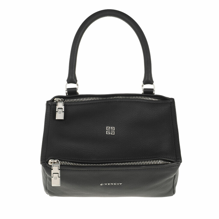 bags, Givenchy, Small Pandora Crossbody Bag Grained Leather Black