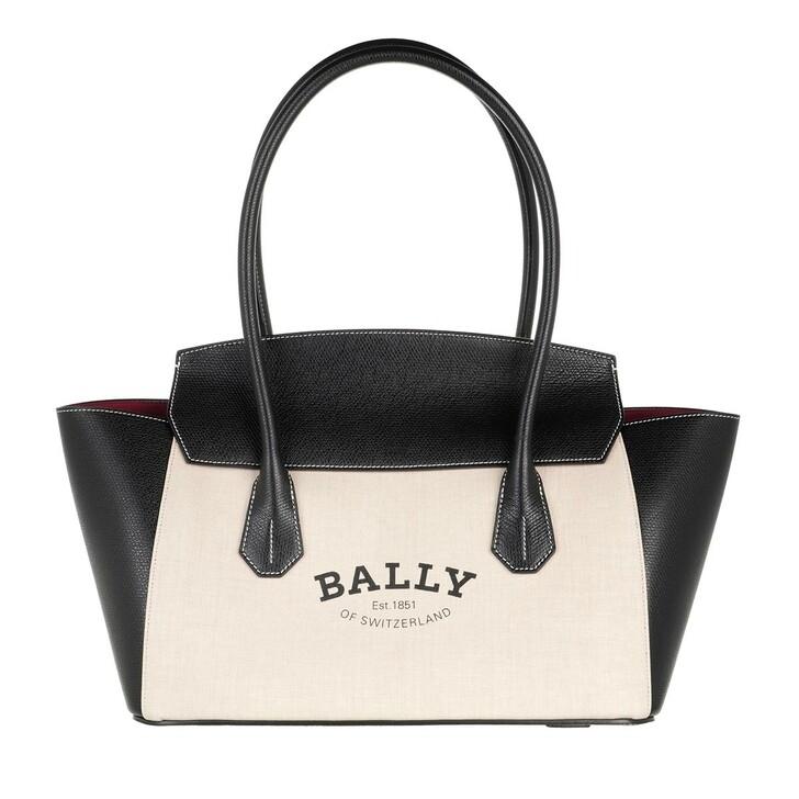 Handtasche, Bally, Sandah Satchel Natural