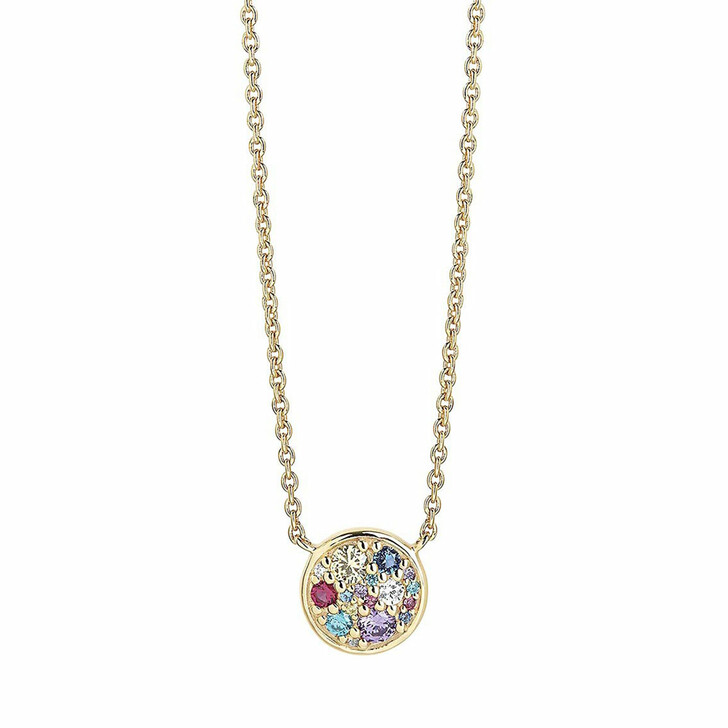 necklaces, Sif Jakobs Jewellery, Novara Necklace 18K Yellow Gold Plated