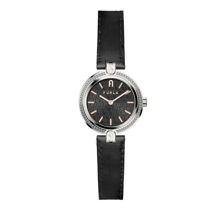 Uhr, Furla,  Logo Links Watch Black
