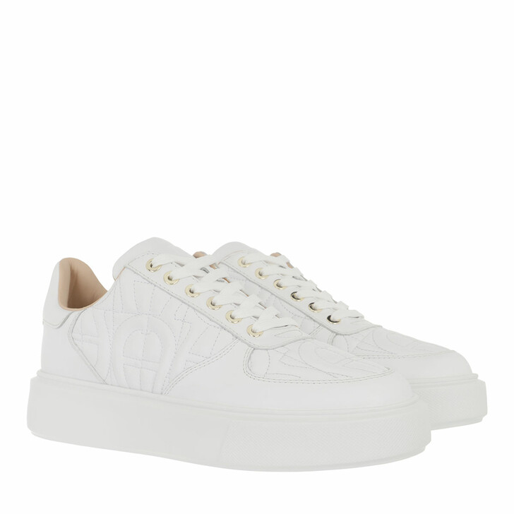 shoes, AIGNER, Sneaker White