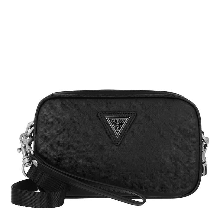 Handtasche, Guess, Certosa Small Necessaire Black