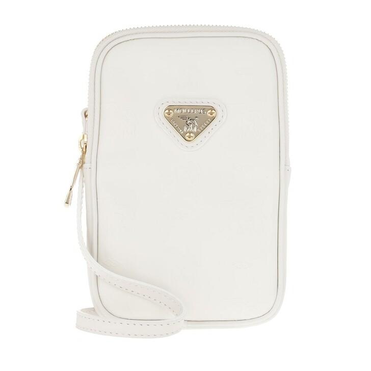 Smartphone/Tablet case (Case), Maison Mollerus, Wildhorn Smartphone Wallet Snow/Gold