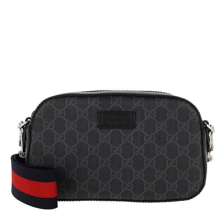 Handtasche, Gucci, GG Shoulder Bag Black