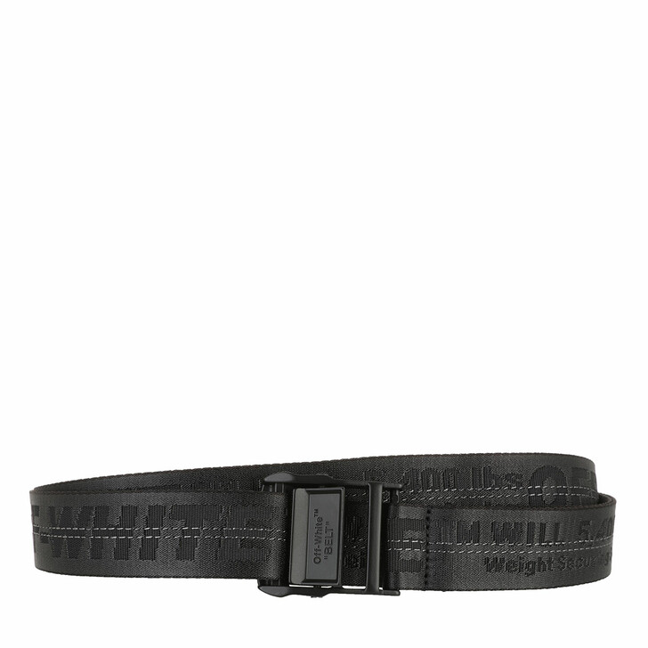 Gürtel, Off-White, Classic Industrial Belt  Black Black