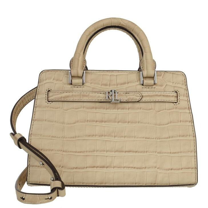 Handtasche, Lauren Ralph Lauren, Fenwick 32 Satchel Medium Dune Tan