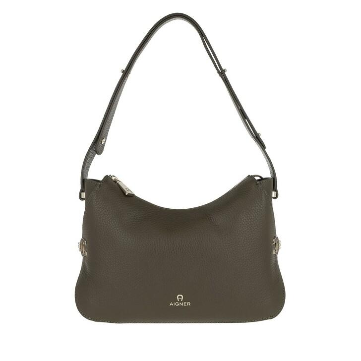 Handtasche, AIGNER, Milano Mini Bag Country Green