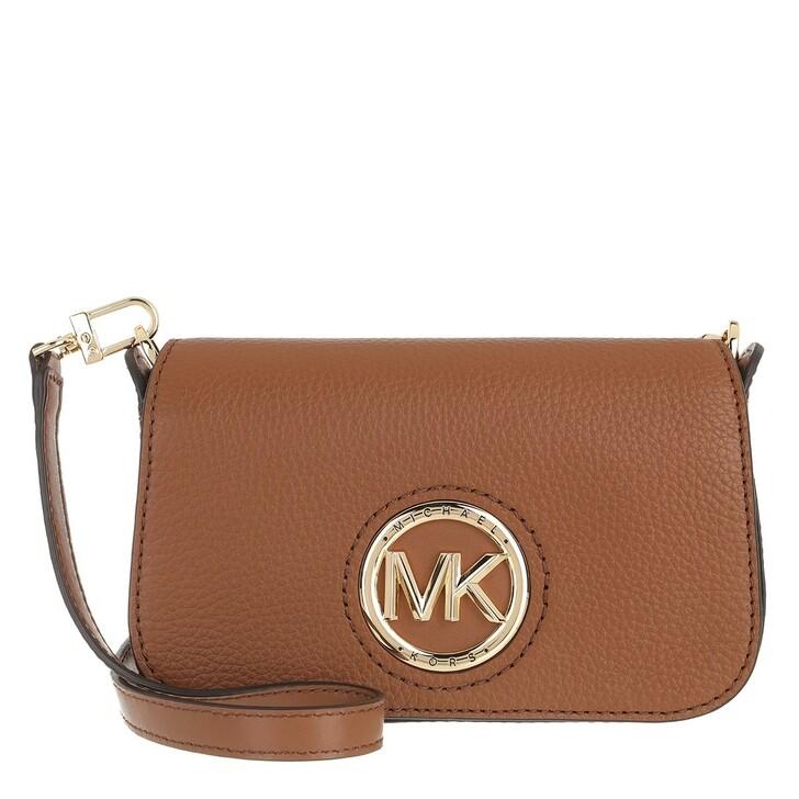 Handtasche, MICHAEL Michael Kors, Samira Small Convertible Crossbody Bag Luggage