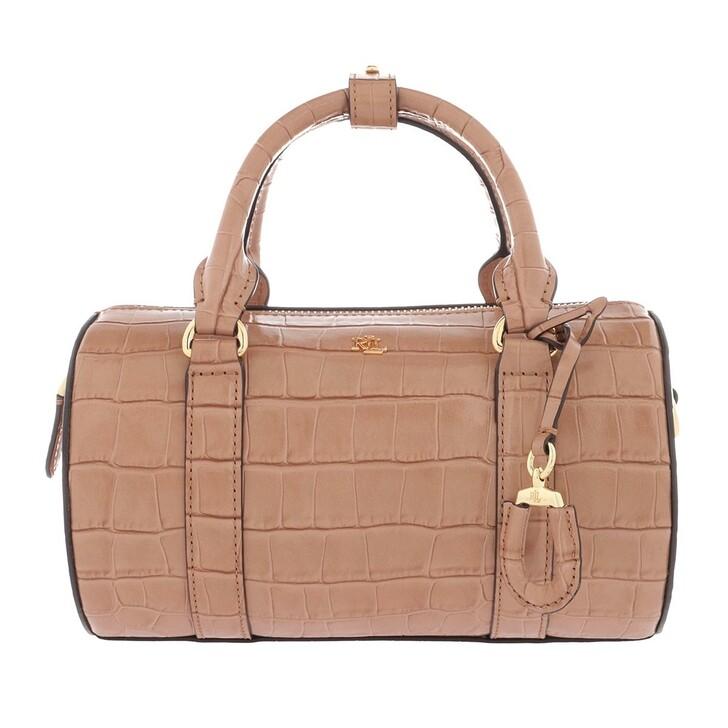 Handtasche, Lauren Ralph Lauren, Zoey 22 Satchel Bag Small Nude