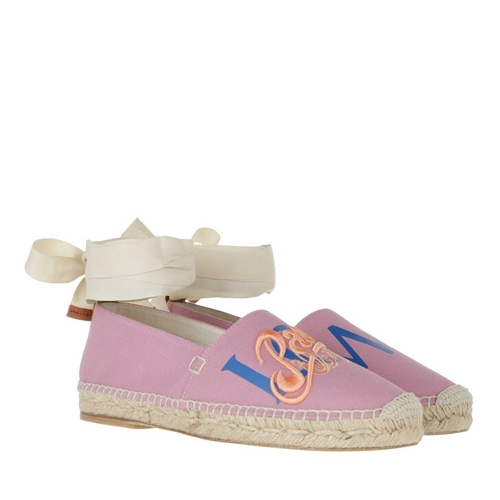 shoes, Loewe, Espadrilles Pink Light Blue