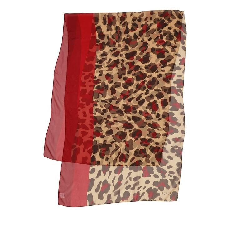 scarves, Furla, Like Stola 70X200 Ruby