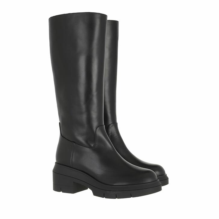 shoes, Stuart Weitzman, Norah Tall Boot Black